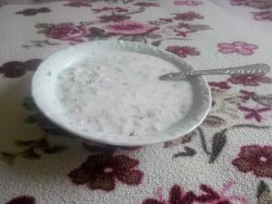 Pirinçli Soğuk Ayran Çorbası Tarifi