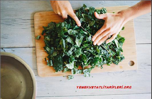 Karalahana Sıcak Salata Tarifi