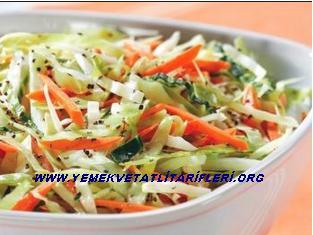 Havuç ve Lahana Salatası Tarifi