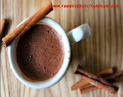 Tarçınlı Sıcak Çikolata Tarifi