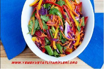 Gökkuşağı Salatası Tarifi