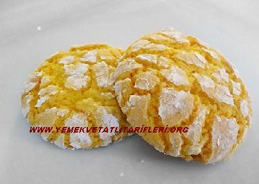 Limon Aromalı Kurabiye Tarifi