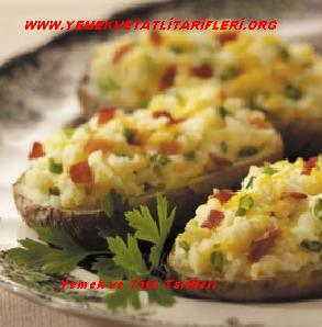 Peynirli Patates Dolması Tarifi