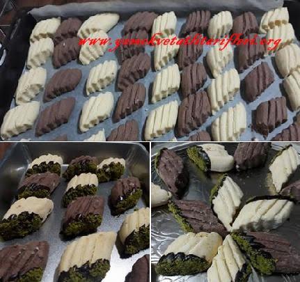 Çikolata Soslu Pastane Kurabiyesi Tarifi