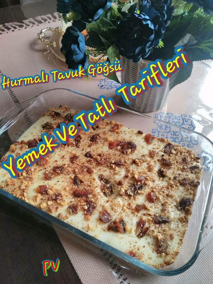 Hurmalı Tavuk Göğsü Tarifi