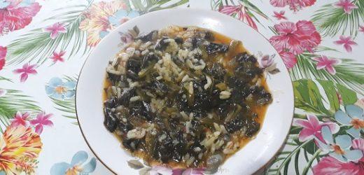 Pirinçli Ispanak Yemeği