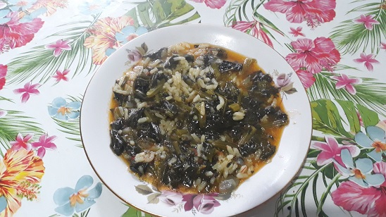 pirincli-ispanak-yemegi