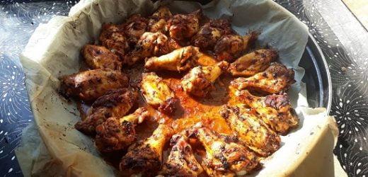 Fırında Soslu Tavuk Kanadı
