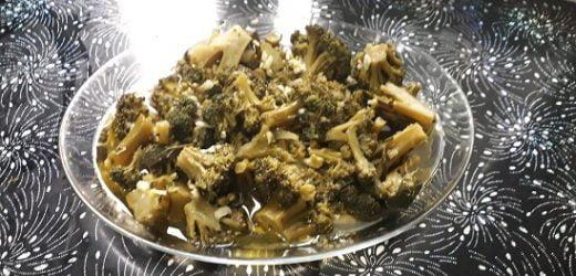 Sarımsaklı Brokoli Salatası