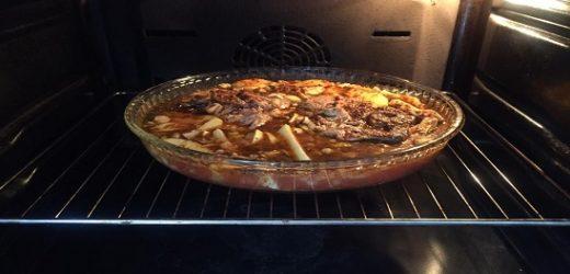 Fırında Kuzu Etli Patates Yemeği