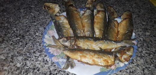 Tavada Sardalya Balık Kızartması